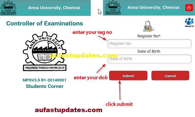 rejinpaul results annauniv edu results