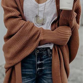 women cardigans fashion loose long sweater