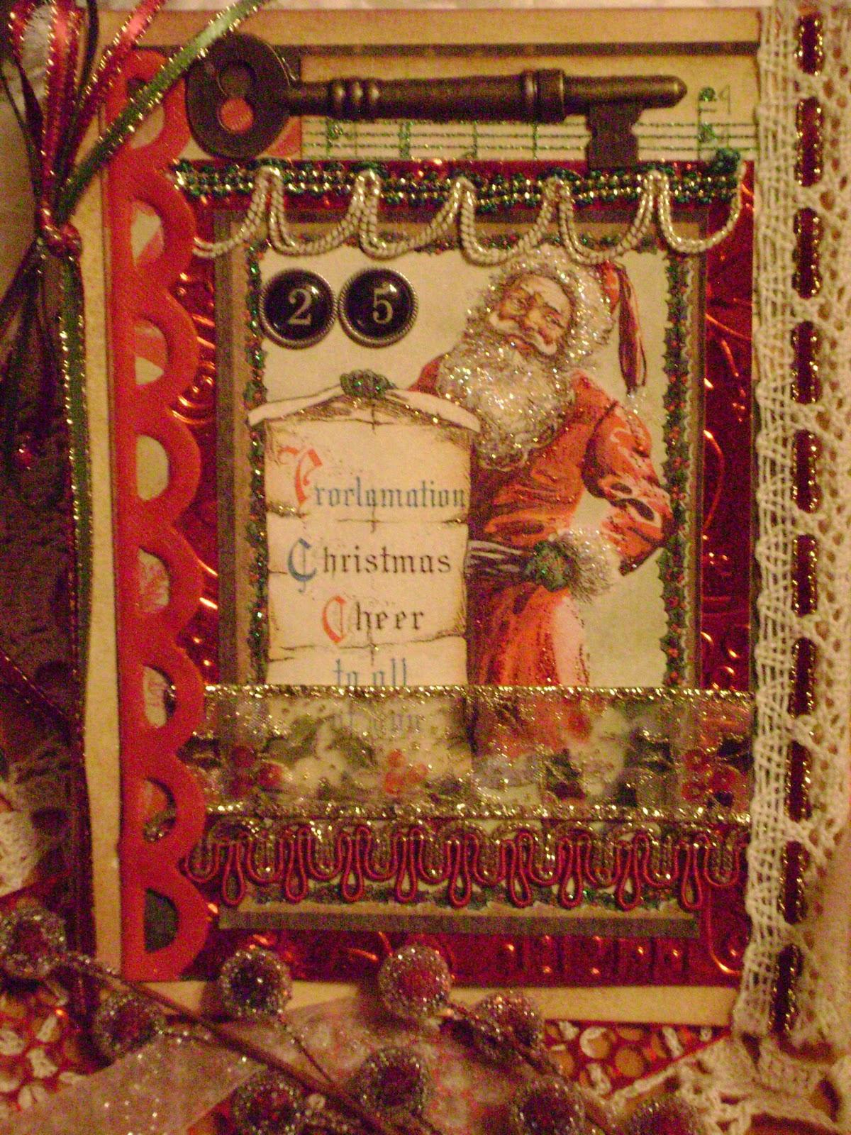 Crabtree Creations Vintage Christmas Card Series
