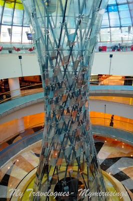 I was going through some of the photos archived inward my laptop when I came across a few of  Gorgeous Atriums of the Wafi Mall, Dubai