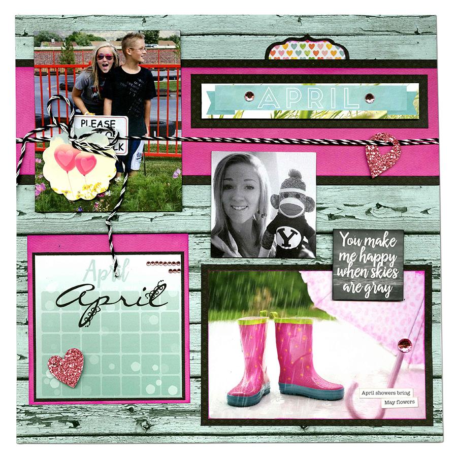 Calendar Girl April Read : Bobunny more of a year with calendar girl