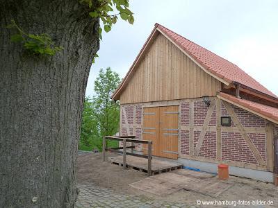 Backhaus an der Mühle Johanna in Hamburg Wilhelmsburg