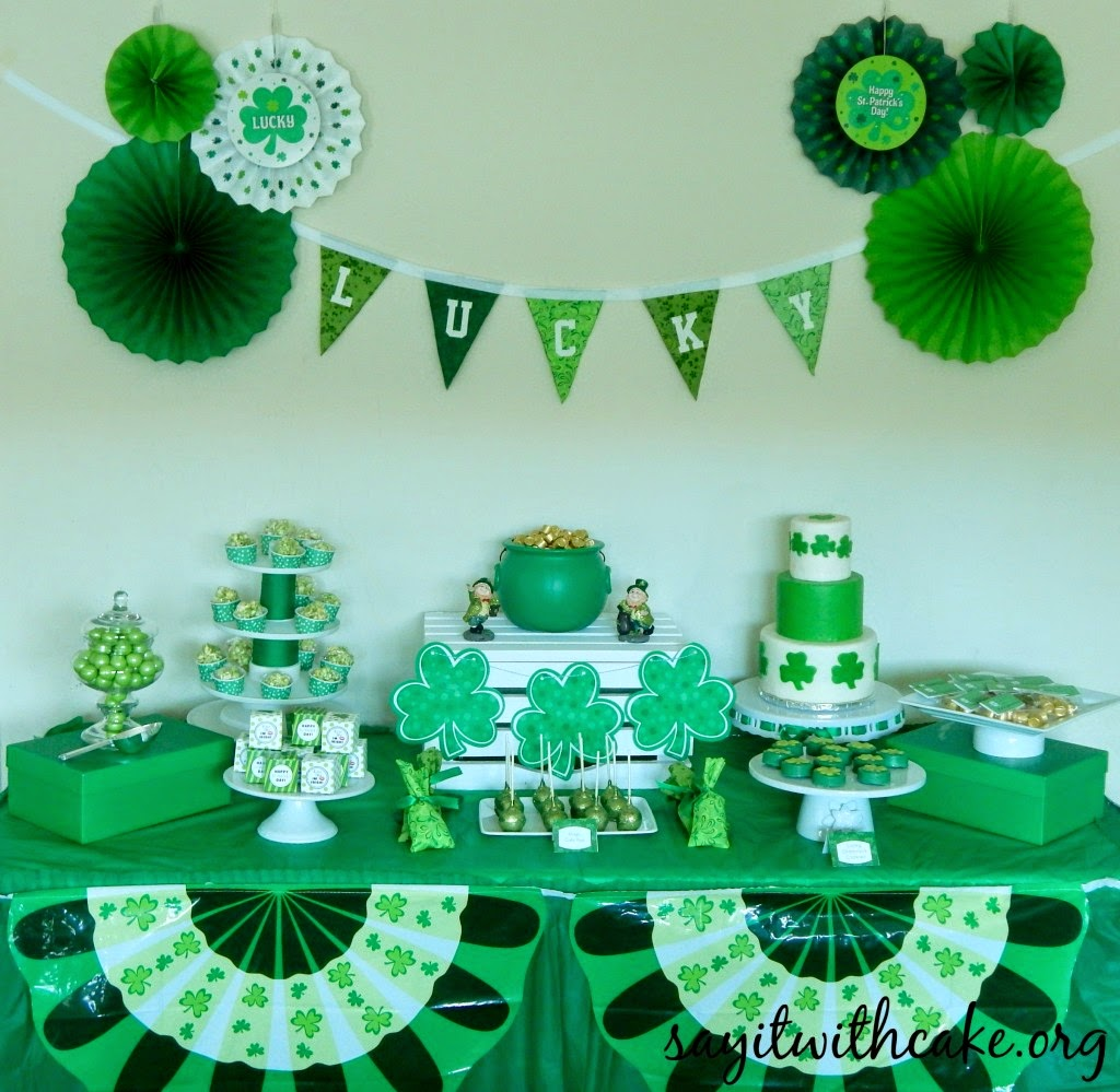 st-patricks-day-party theme