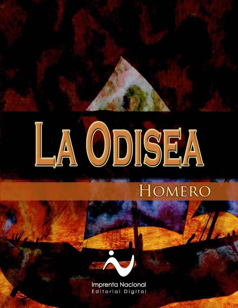 La Odisea – Homero [Imprenta Nacional]