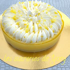 Les sucreries de yory cheesecake limoncello - Cheesecake philadelphia fromage blanc ...