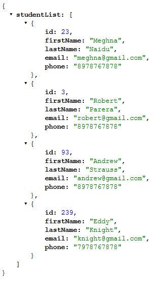 Spring MVC - JSON response with @ResponseBody annotation