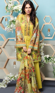 Beech Tree Unstitched Eid Lawn Vol III 2016-2017