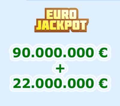 Eurojackpot de la ONCE viernes 9 de noviembre