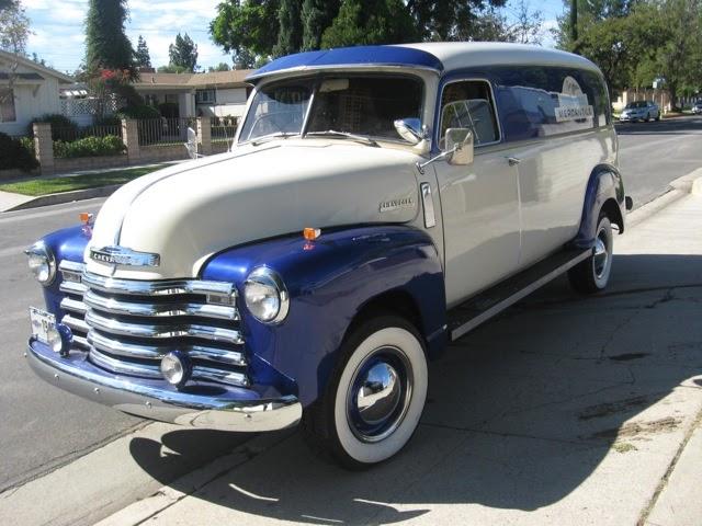 Chevy Panel Van Rod City Garage Www Rodcitygarage Com