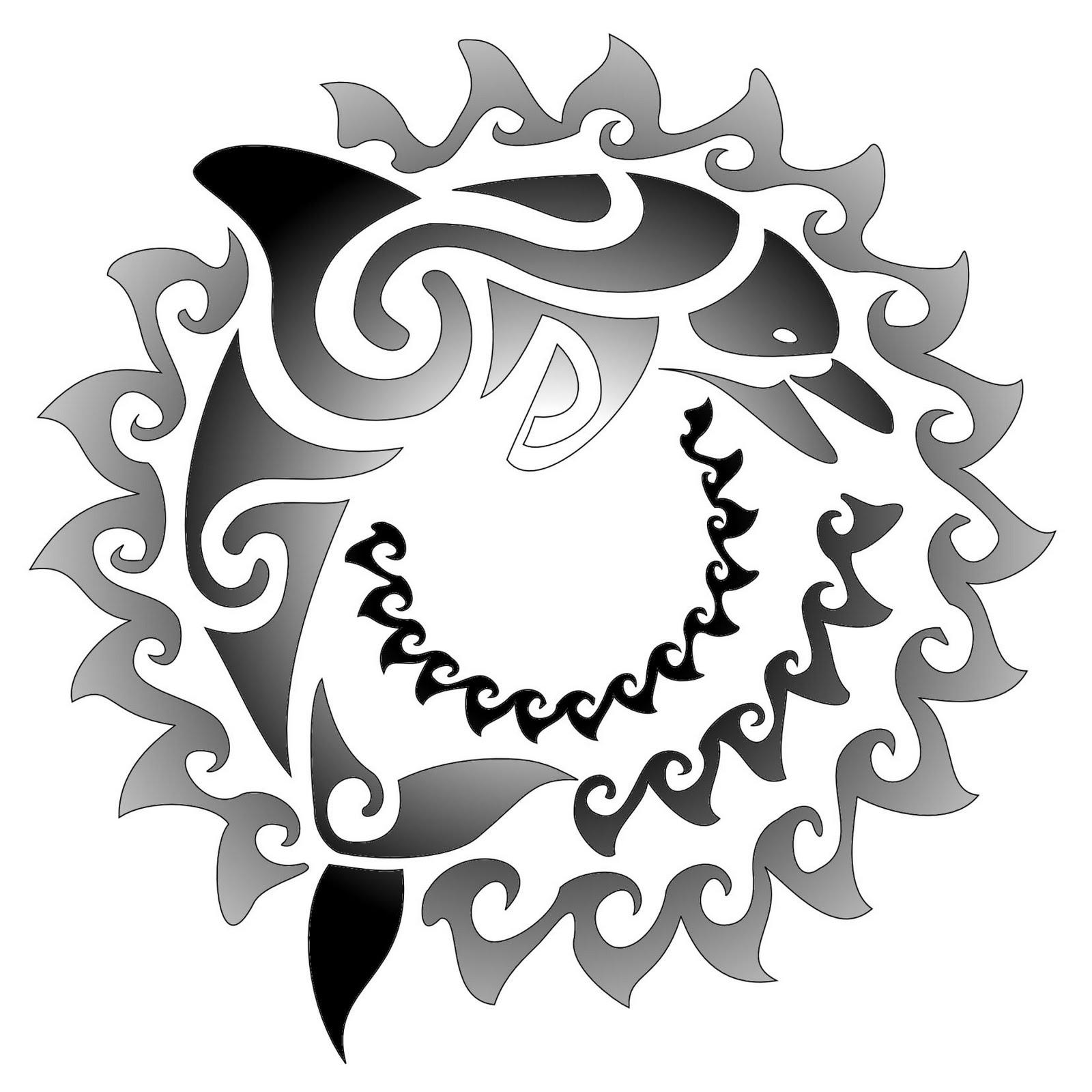 Maori Sun Tattoo: Artist Tattoonya: MAORI TATTOOS