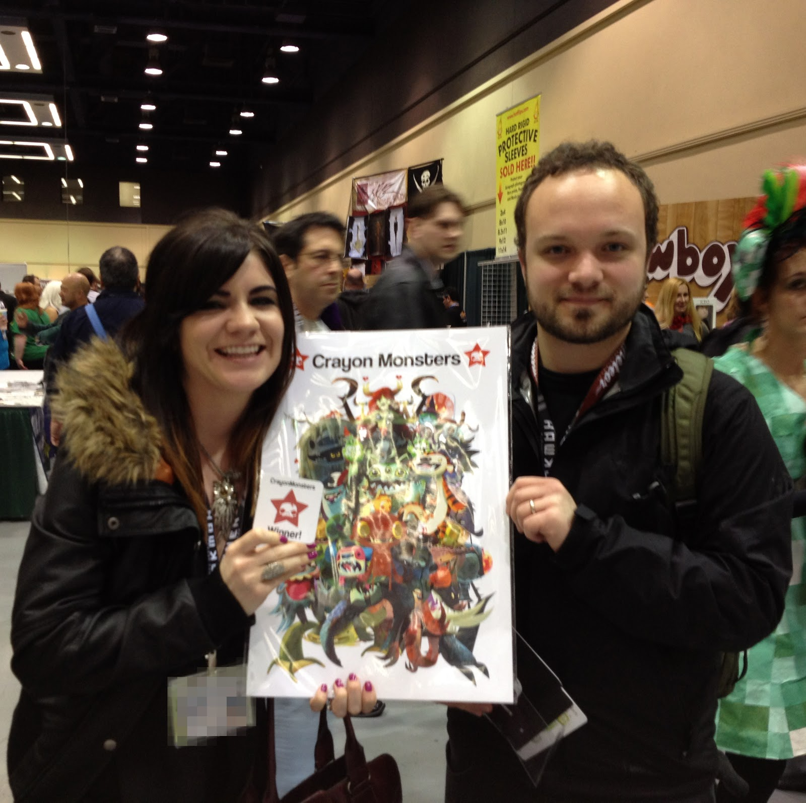 Crayonmonsters: Emerald City Comicon 2013 UPDATE