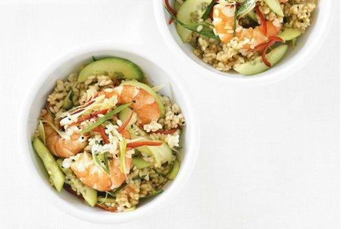 Resep Cara Membuat Sushi Salad Udang Super Yummy
