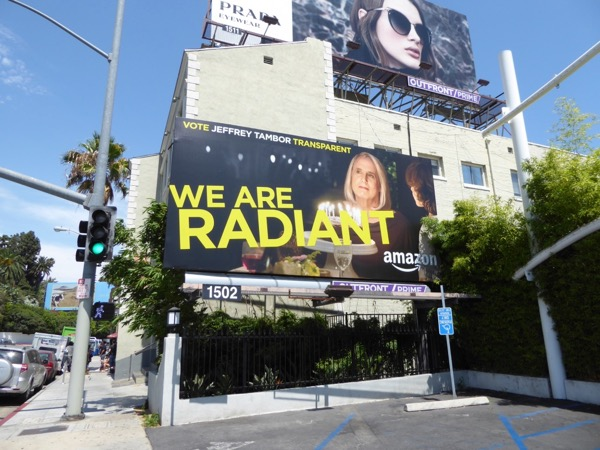 Jeffrey Tambor Transparent Radiant billboard