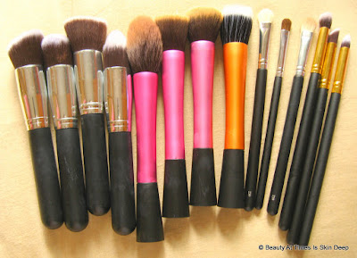 highend makeup brush dupes