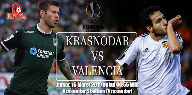 Prediksi Krasnodar vs Valencia Europa League