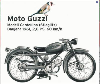 Moto Brescia: La motocicletta nella pubblicità
