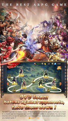 Download Dynasty Legends Apk v3.3.100 Terbaru