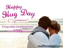 Hug Day Shayari 2019