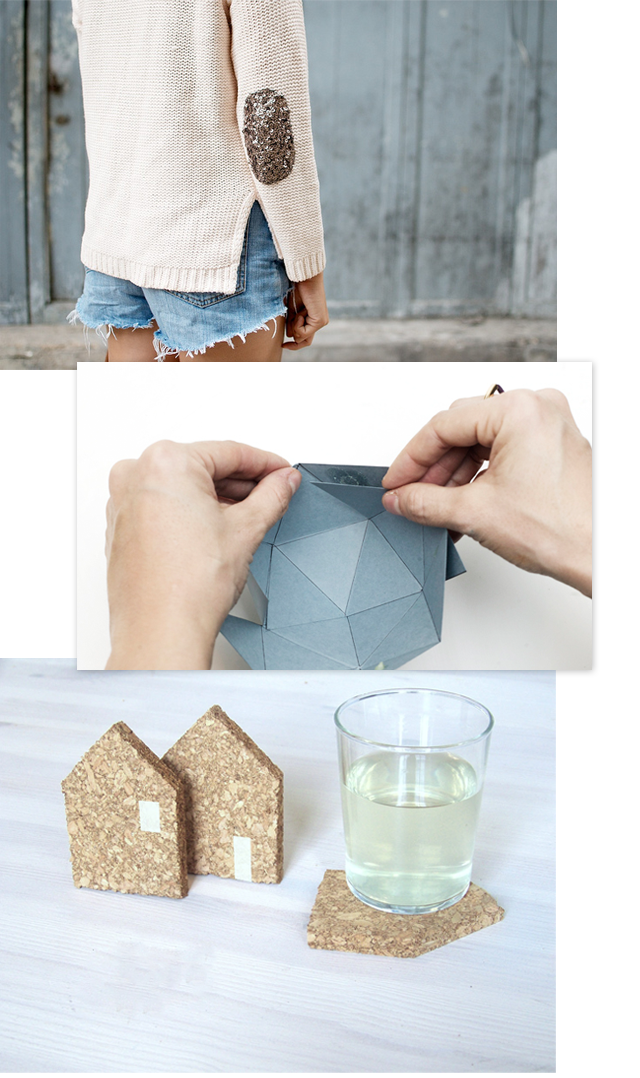 Oh the lovely things: Happy Friday! Mini DIY Round-Up