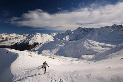 Randonnée raquettes neige Gavarnie