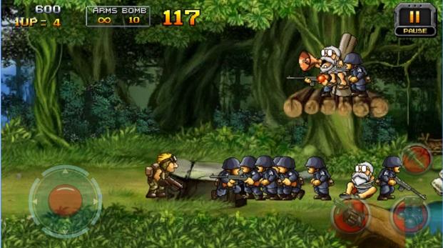 لعبة الجندى المقاتل Metal Contra