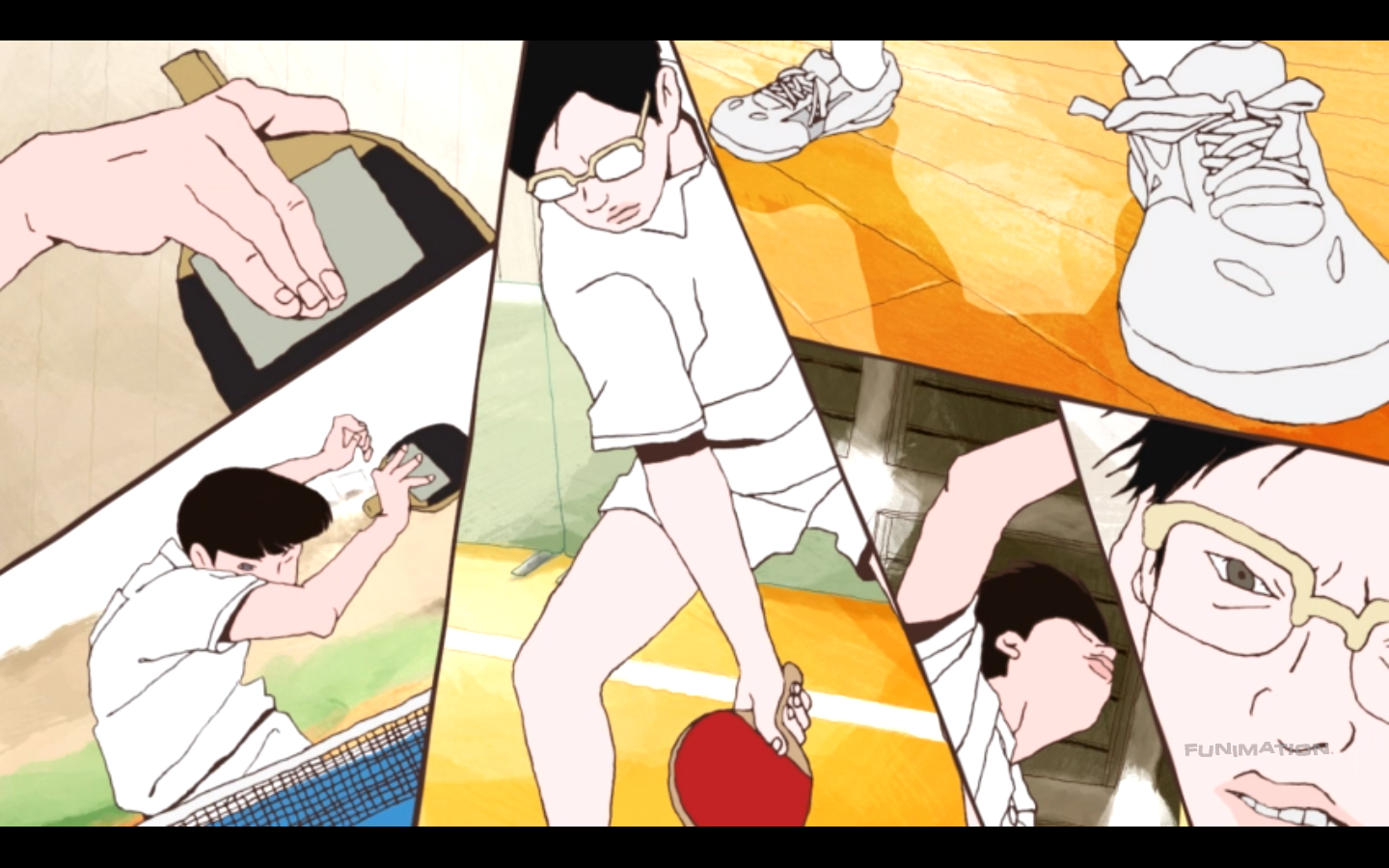 Confusion Under The Maples Ping Pong The Animation