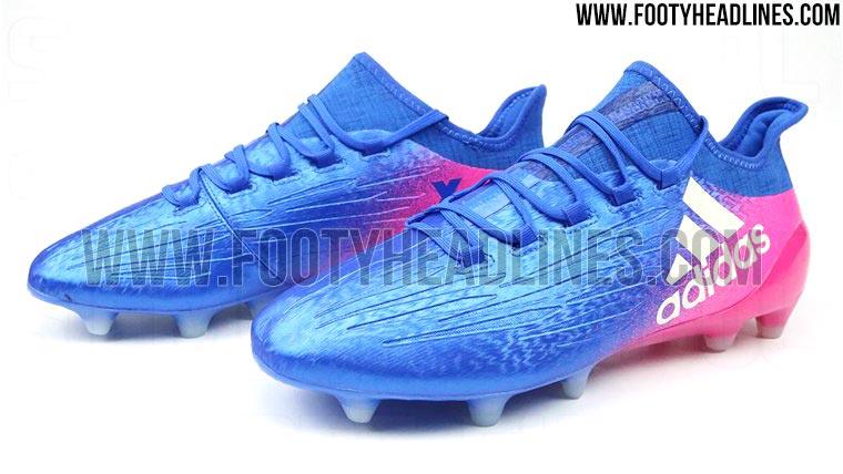 adidas fußballschuhe blau pink