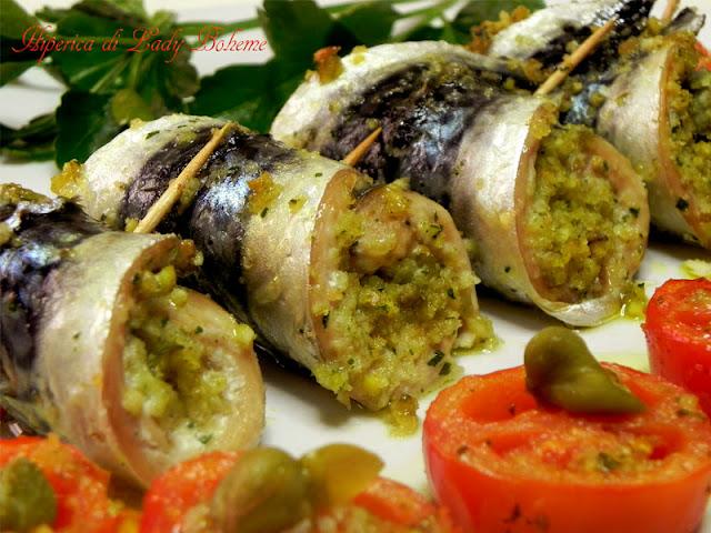 Hiperica di lady boheme ricetta involtini di sgombro al for Ricette cucina facili