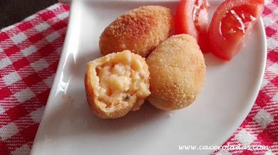 Croquetas de mejillones
