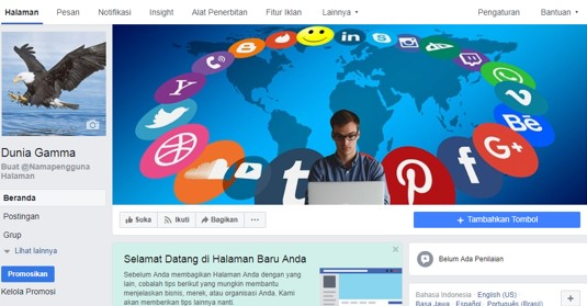 Cara Buat Fans Page atau Halaman di Facebook dengan Capat dan Mudah