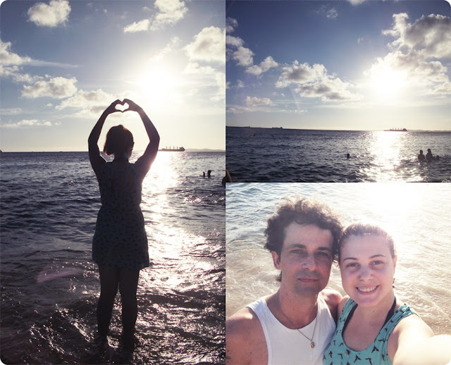 praia boa viagem, blog de casal, look de casal, jell e marcelo, blog retrô