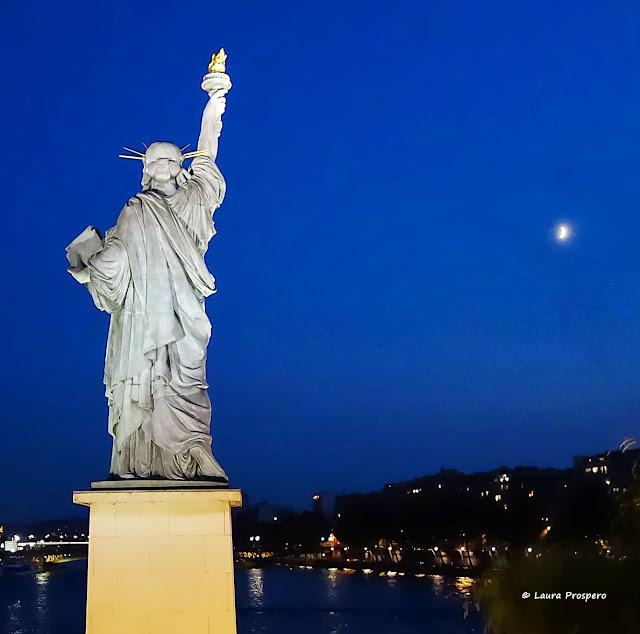 Statue de la Liberté, Paris © Laura Prospero