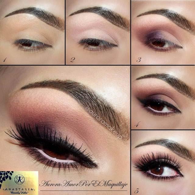 Super Trucchi Del Make Up: Trucco occhi marroni CX14