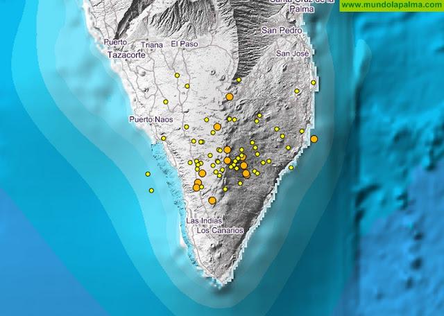 Especialistas del Pevolca analizan hoy la situación sísmica en La Palma