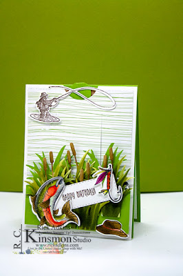 Best Catch, Masculine card, Stampin' Up!, Rick Adkins