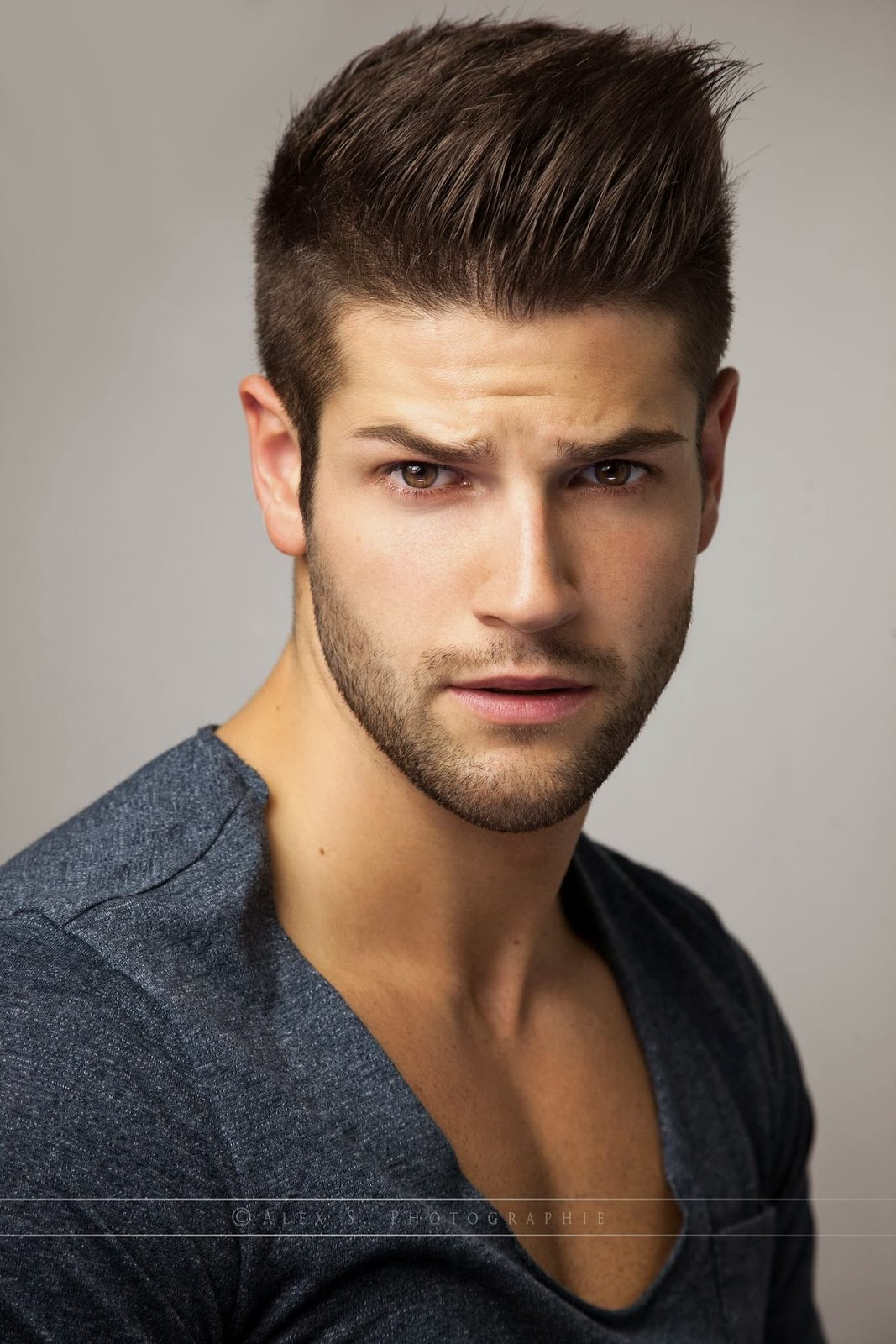 male model hair style s photo s baudoin 7911 | JEREMY BAUDOIN