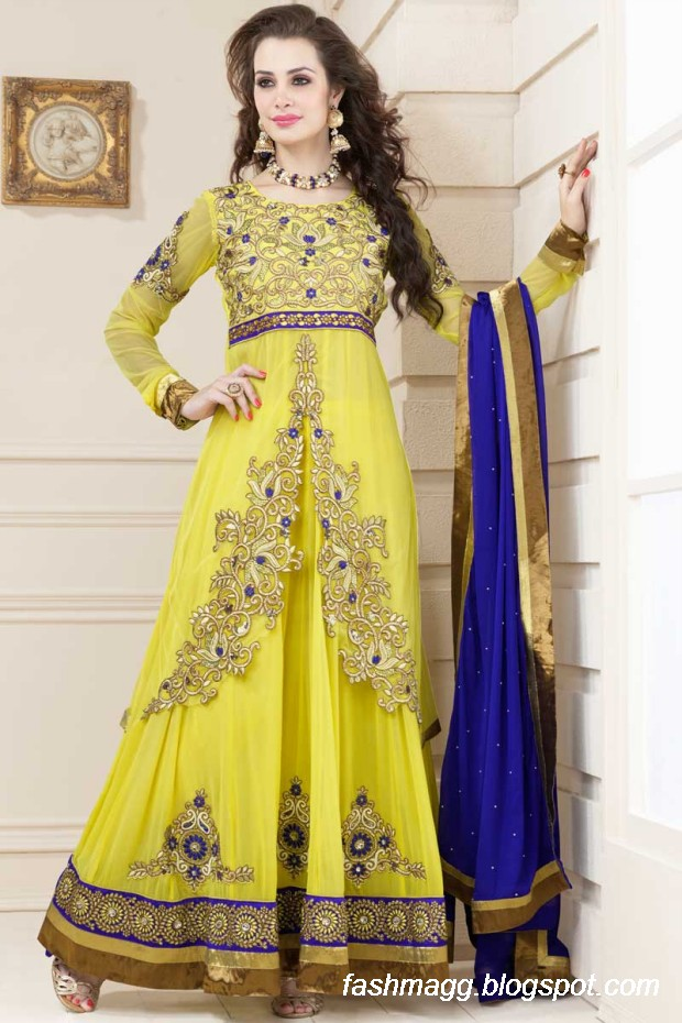 Anarkali Umbrella Frocks: Fashion & Style: Indian Anarkali Umbrella Wedding-Brides