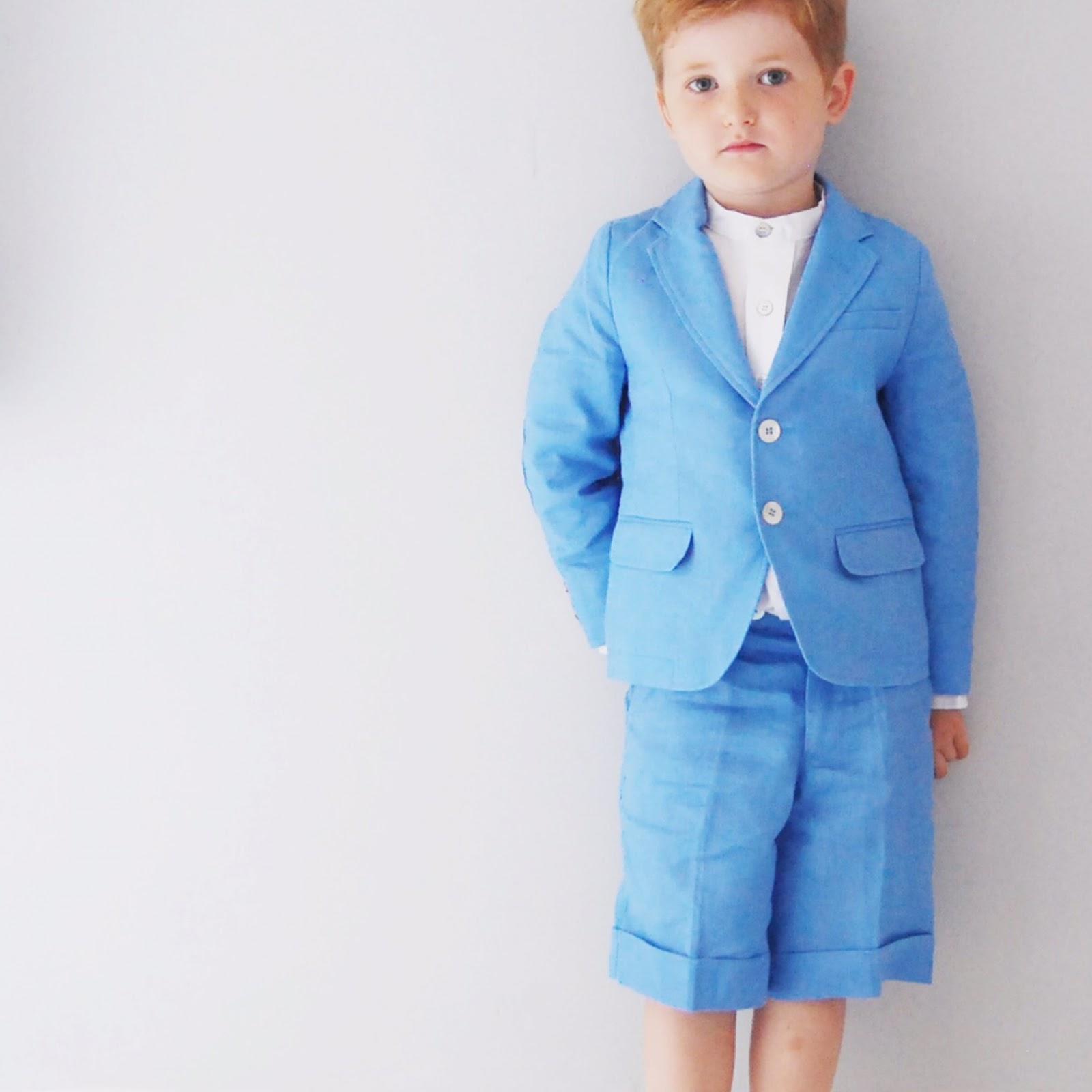 Little Boys In Little Linens Suits. | Brick Dust & Glitter