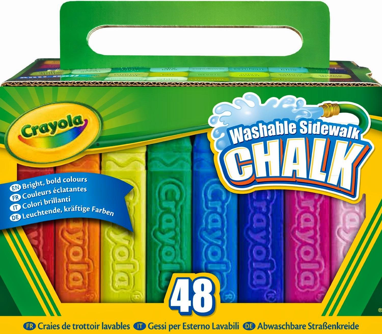 All Things Children Crayola 48 Count Sidewalk Chalk