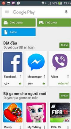 Ch Play miễn phí cho Android 1