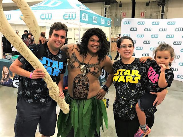 Looey, Maui, me, and Leia.