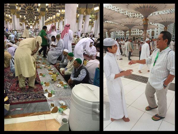 Indahnya Ramadhan Di Masjid Nabawi