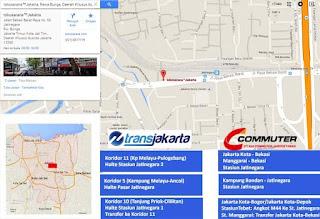 Transportasi Publik: Trans Jakarta dan Commuter Line KAI ke tokosarana™Jakarta