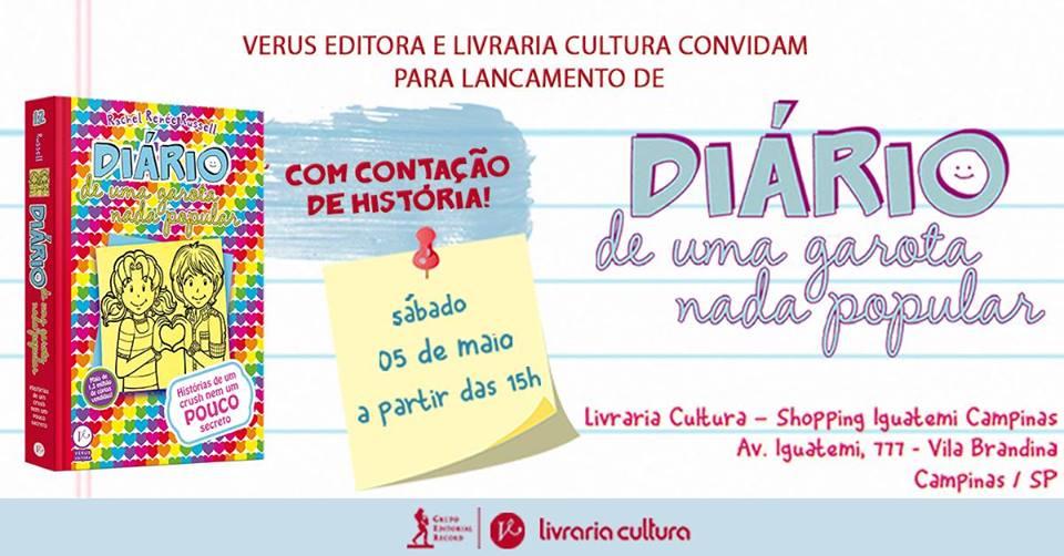 Agenda de Eventos Literário