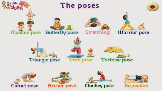 Yoga For Children Being Awake Aware