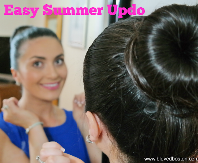 Easy Summer Updo