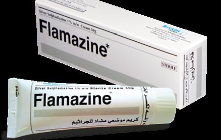 سعر ودواعى استعمال فلامازين كريم flamazine cream مضاد للبكتريا