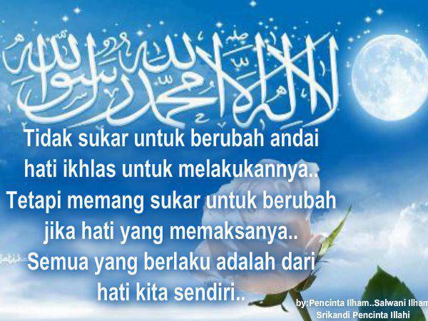 Kata Bijak islami Penyentuh Hati Yang Gundah