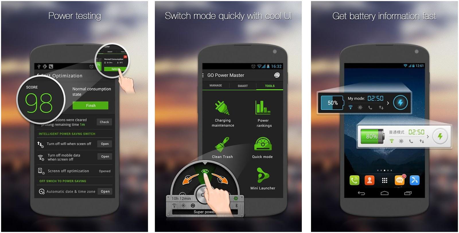 Aplikasi Android Penghemat Baterai