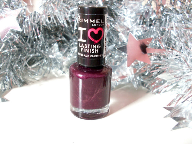 Rimmel I love Lasting Finish in 193 BLACK CHERRIES